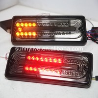 1990 2013 Year For Mercedes Benz W463 G400 G500 G55 LED Tail Light G63 Style