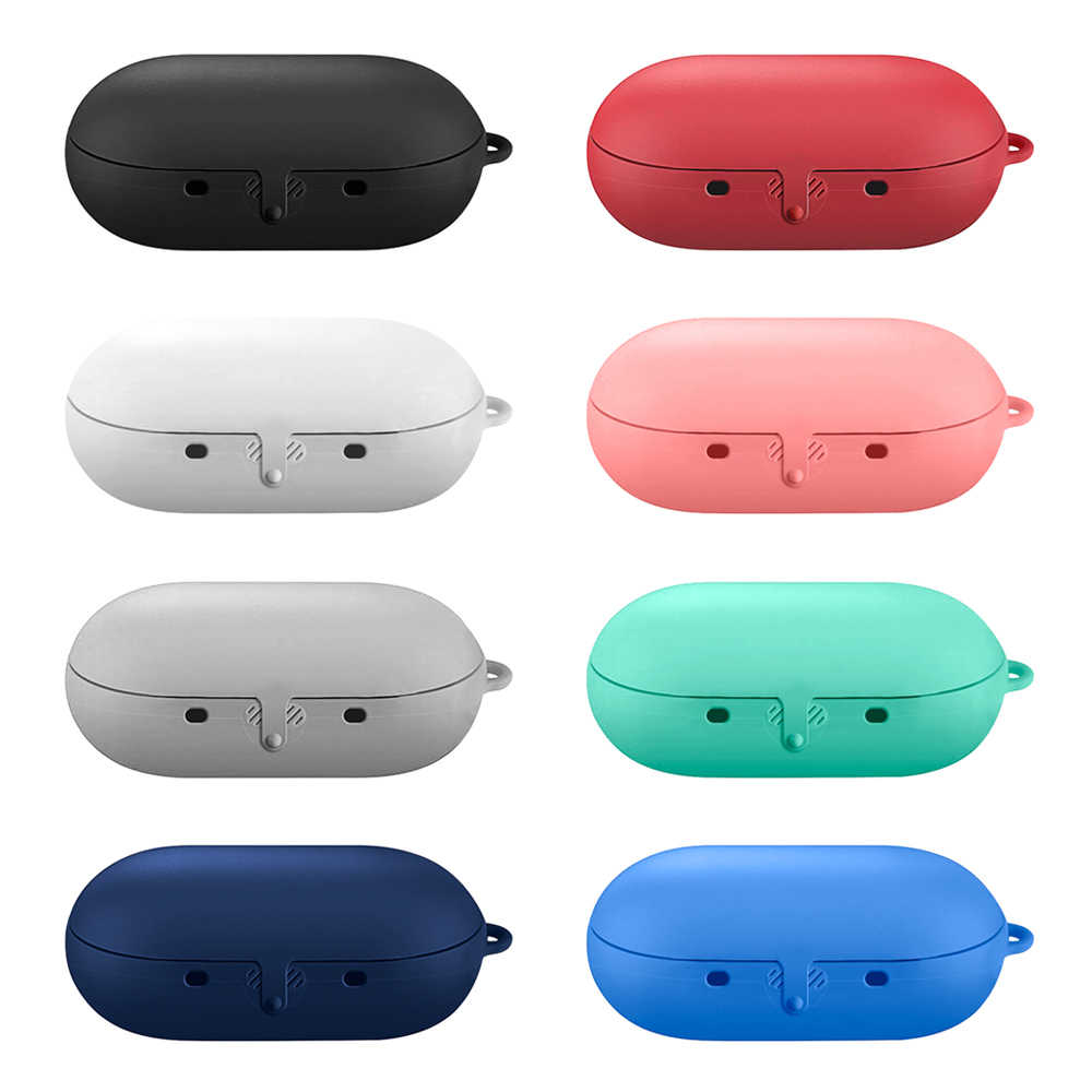 1Pcs Silicone Bluetooth Wireless Earphone Bag Case Storage Carrying For Samsung Gear Icon X 2018 Waterproof Shockproof Protector