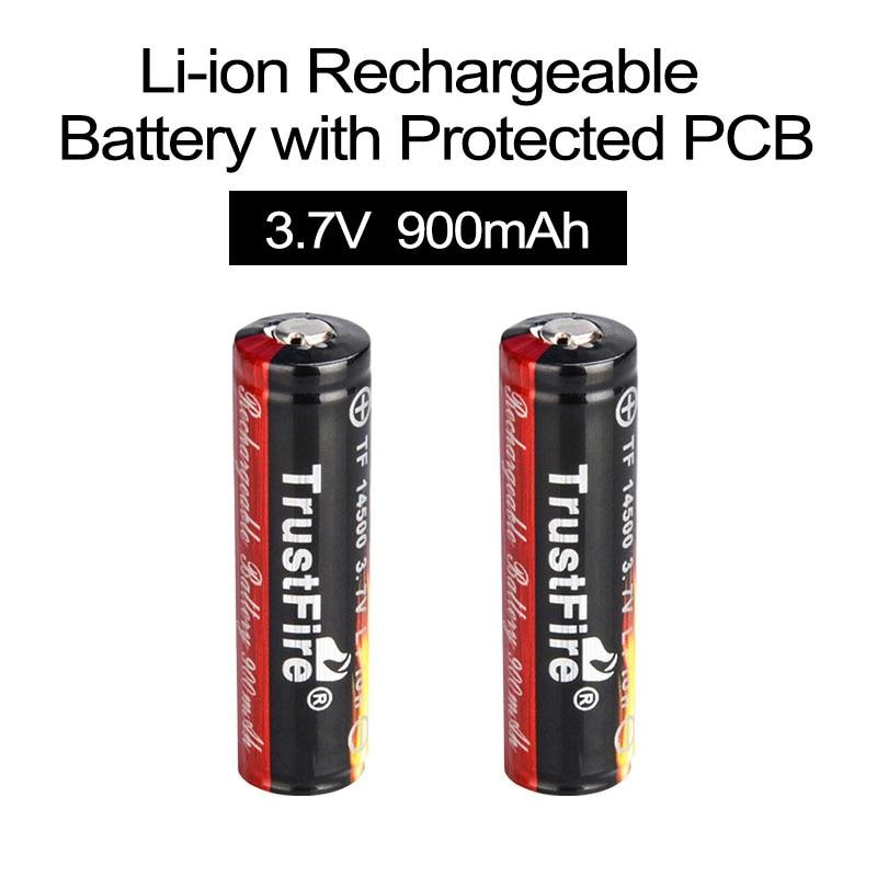 Baterias Recarregáveis real para diodo emissor de Capacidade Nominal : 900 MAH