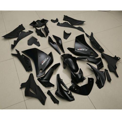 Painted Gloss Black ABS Plastic Fairing Bodywork For HONDA CBR250RR CBR 250 RR 11-13 motorcycle painted black abs plastic fairing bodywork for honda cbr250rr cbr 250 rr 11 12