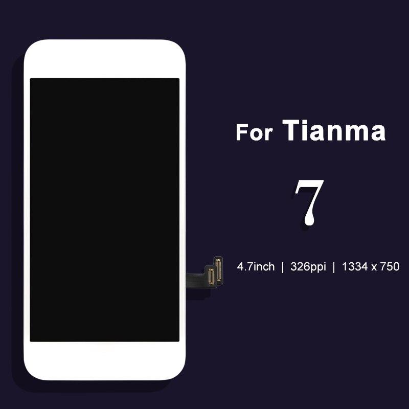 imágenes para Para tianma 3 unids de DHL Para el iphone 7 Reemplazo LCD Ecran 3D Con Pantalla Táctil Digitalizador Asamblea envío gratis