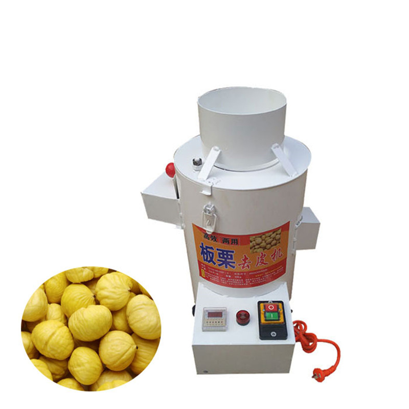 220V Commercial Electric Chestnut Peeling Machine Water Chestnut Peeler Automatic Peeler Machine For Home Or Commercial Using silicone bear