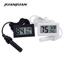 100pcs הדיגיטלי LCD מקורה נוח טמפרטורת חיישן לחות מד מדחום מדדי לחות מד 20% off