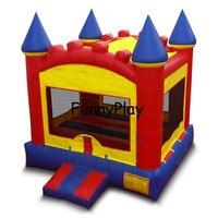 Надувной Батут Дом для парк площадка, надувной батут замок для развлечения детей, надувной батут джемпер для renntal