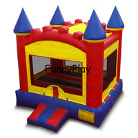 Inflatable bouncer house for park playground ,inflatable bouncer castle for children fun,inflatable bouncer jumper for renntal