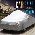 Car Cover Auto Outdoor Anti UV Rain Sun Snow Protector Cover Sunshade For Toyota RAV4 Corolla Crown Reiz Vios Highlander Camry