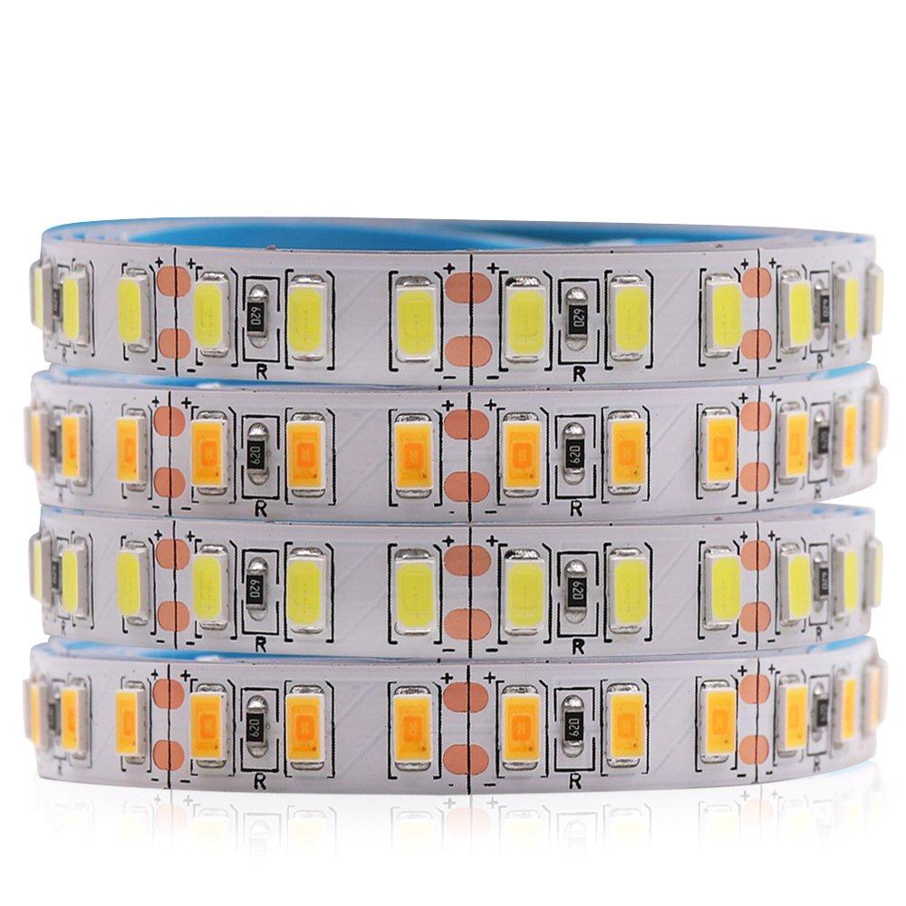 120leds/m 5m Led Strip Smd 5730 Flexible Led Tape Light Smd 5630 Not Waterproof White /warm White Dc12v Crazy Price Led Lighting