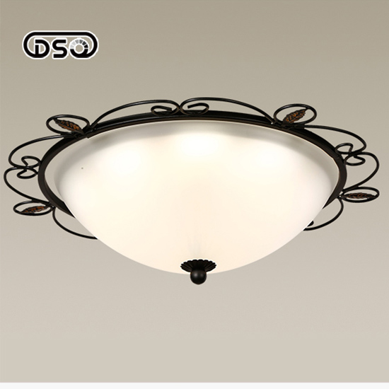 American Country-Style Ceiling Light for Study-room, Nordic Simple-Style Ceiling Light for Living-room american country style small balcony ceiling light diameter 400mm