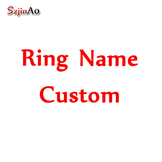 Personalized Birthstones Names Ring Engraved Best Friends Jewelry Family Name Jewelry  Extra Fee
