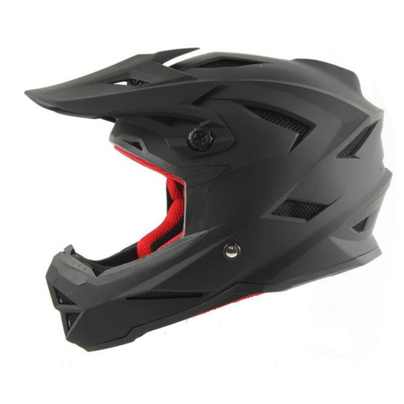 Bicycle Helmet Sport Cycling Helmet Integrally-molded Design Mountain Cool Bike Downhill Racing Helmet Full Helmet Accessories universal bike bicycle motorcycle helmet mount accessories