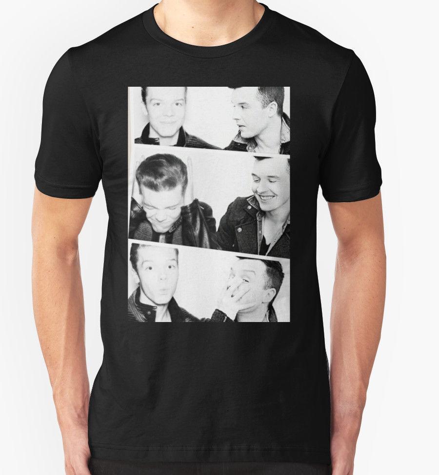 """Новый SHAMELESS-GALLAVICH Для мужчин футболка Размеры S-2XL """"Рубашка с короткими рукавами хлопковая модная футболка Бесплатная доставка"""""""