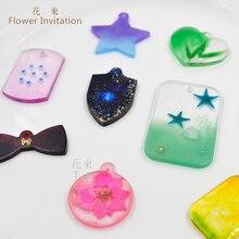 Flower Invitation cat claw bone mold flower Cambodia DIY hand hole pendant dog necklace cat tag