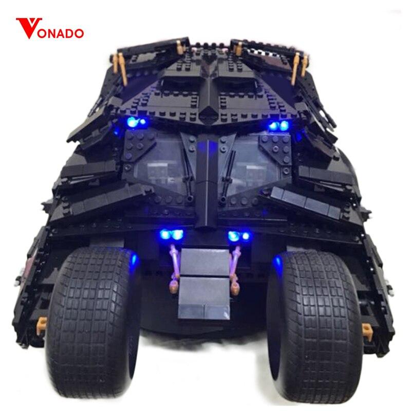 Led Light Set For Lego 76023 7111 super heroes Batman The Tumbler batmobile Blocks technic Building bricks Toys For Children