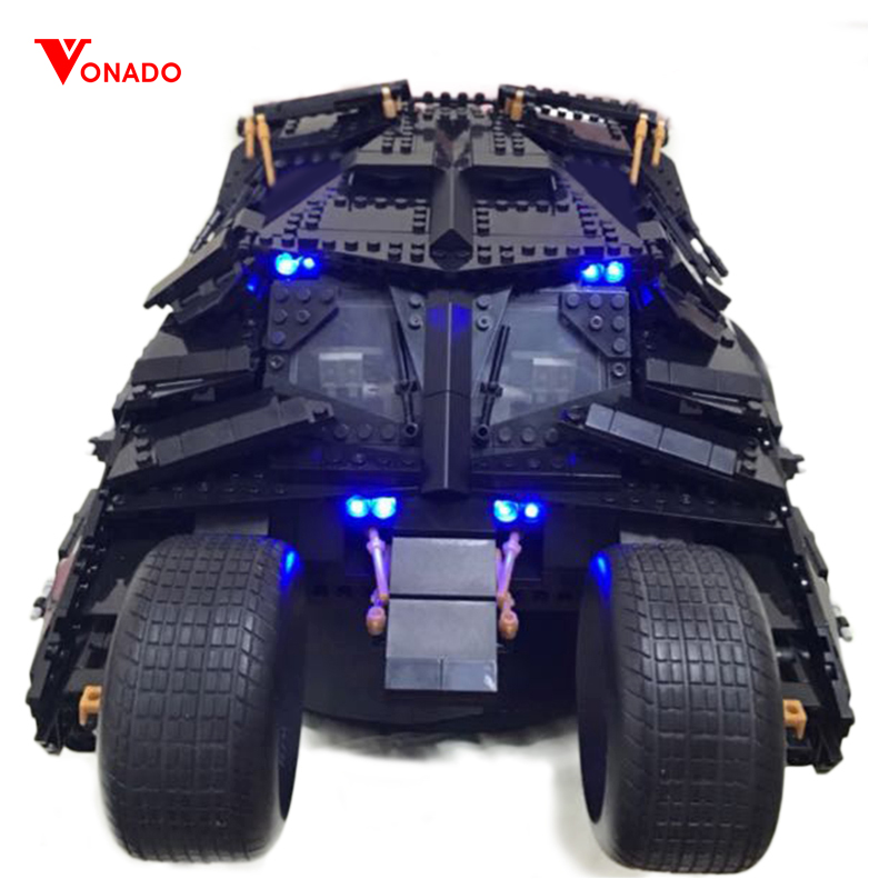 Led Light Set For Lego 76023 7111 super heroes Batman The Tumbler batmobile Blocks technic Building bricks Toys For Children