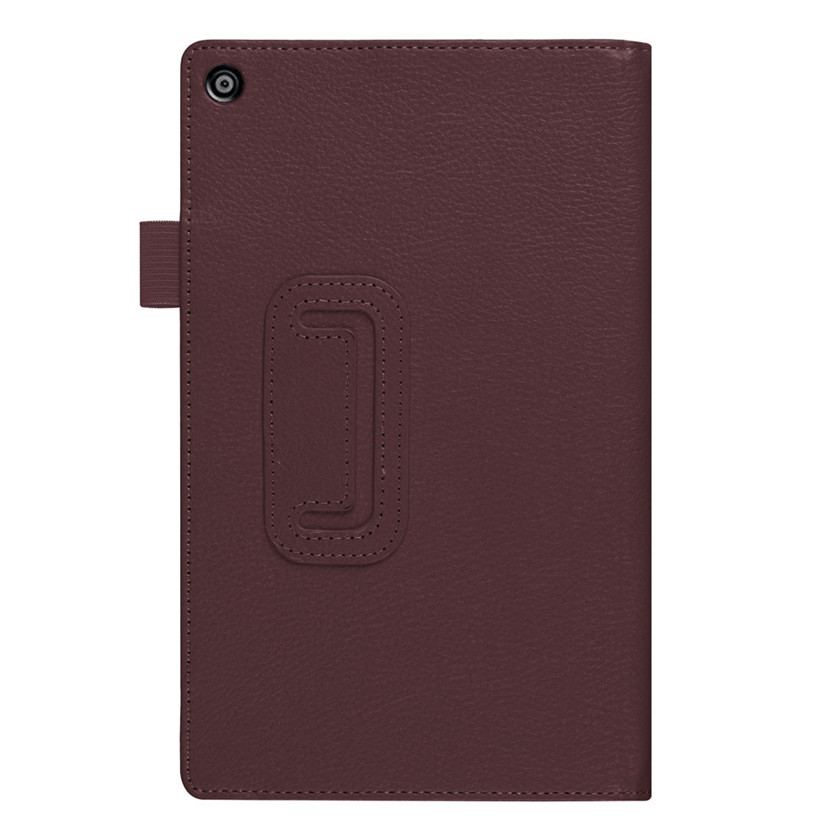 Factory price High Quality Hot Selling Folio Case Leather Stand Cover For Amazon Fire HD 8(6th Gen, 2016) Drop Shipping