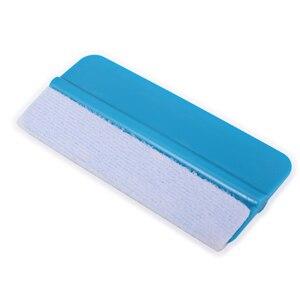 Image 5 - FOSHIO – raclette de carte blanche de 1 mètre, pièce de rechange en tissu feutré, outil de teinte de fenêtre, Film anti rayures, grattoir, tissu de protection
