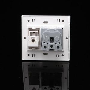 Image 5 - EU Household  wall socket with Internet Socket outlet  250v 16A