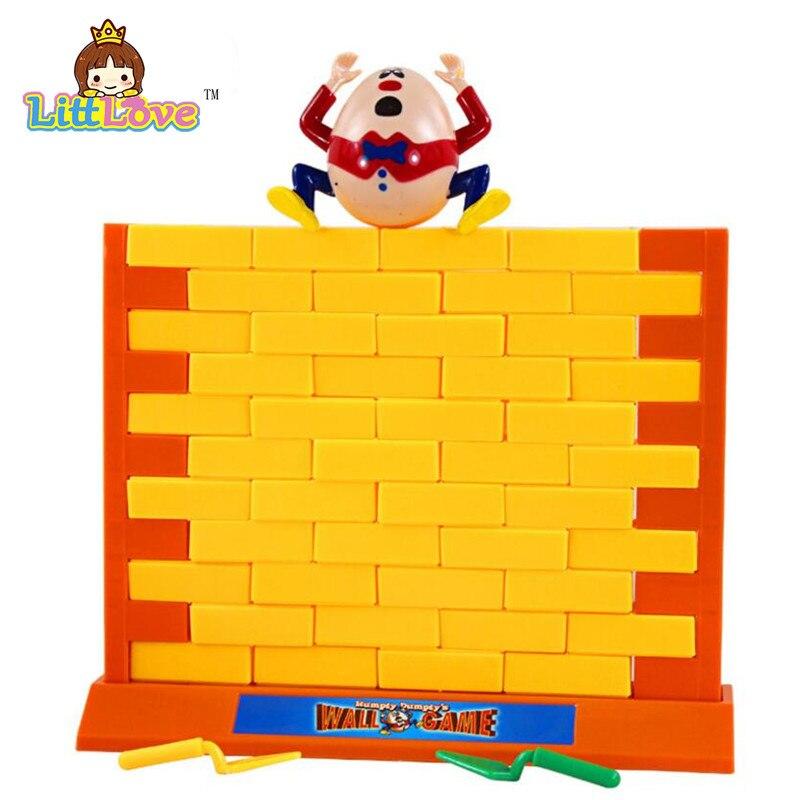 LittLove 2017 Roliga Gadgets Push Wall Board Game Demolish Creative - Nya föremål och humoristiska leksaker - Foto 3