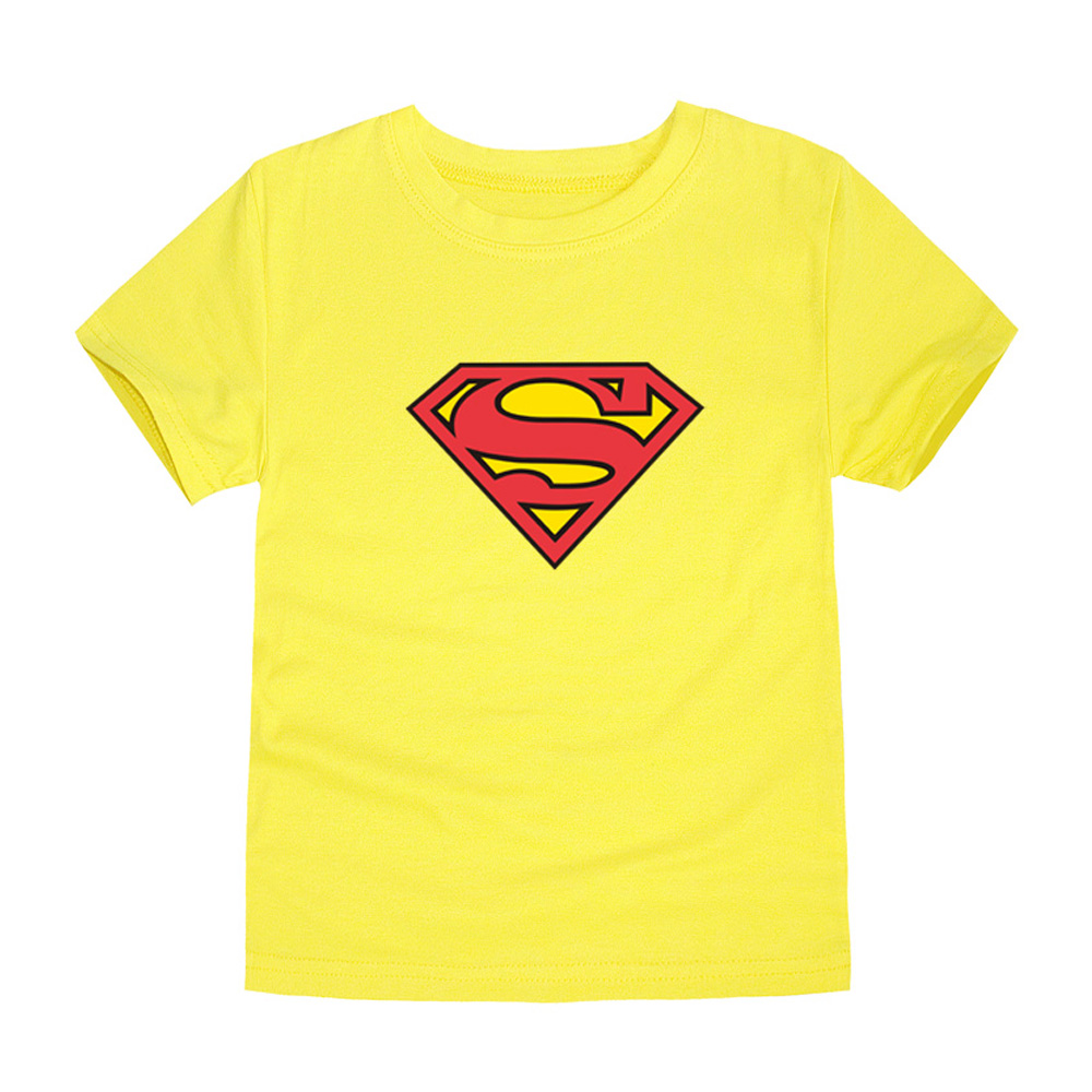 HTB1pmKbQVXXXXctXVXXq6xXFXXXA - TINOLULING 2018 Kids Superman T-Shirt Boys Girls Batman T Shirt Children Tops Baby Tees For 2-14 Years