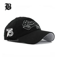 FLB Wholesale Spring Casual Snapback Hats Baseball Caps Golf Hats Hip Hop Embroider Letter Cotton