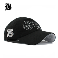 FLB Wholesale Spring Casual Snapback Hats Baseball Caps Hats Hip Hop Embroider Letter Cotton Hat