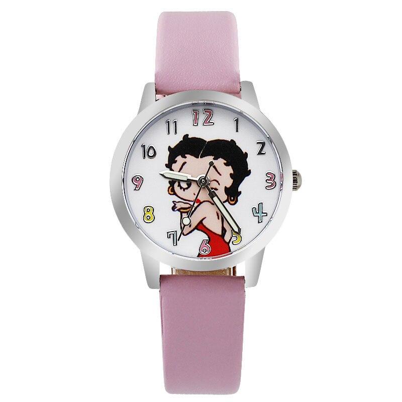 Ребенок часы девочка little sister девочка Мальчик водонепроницаемый кварцевые часы Стильная футболка с изображением персонажей видеоигр Начал...