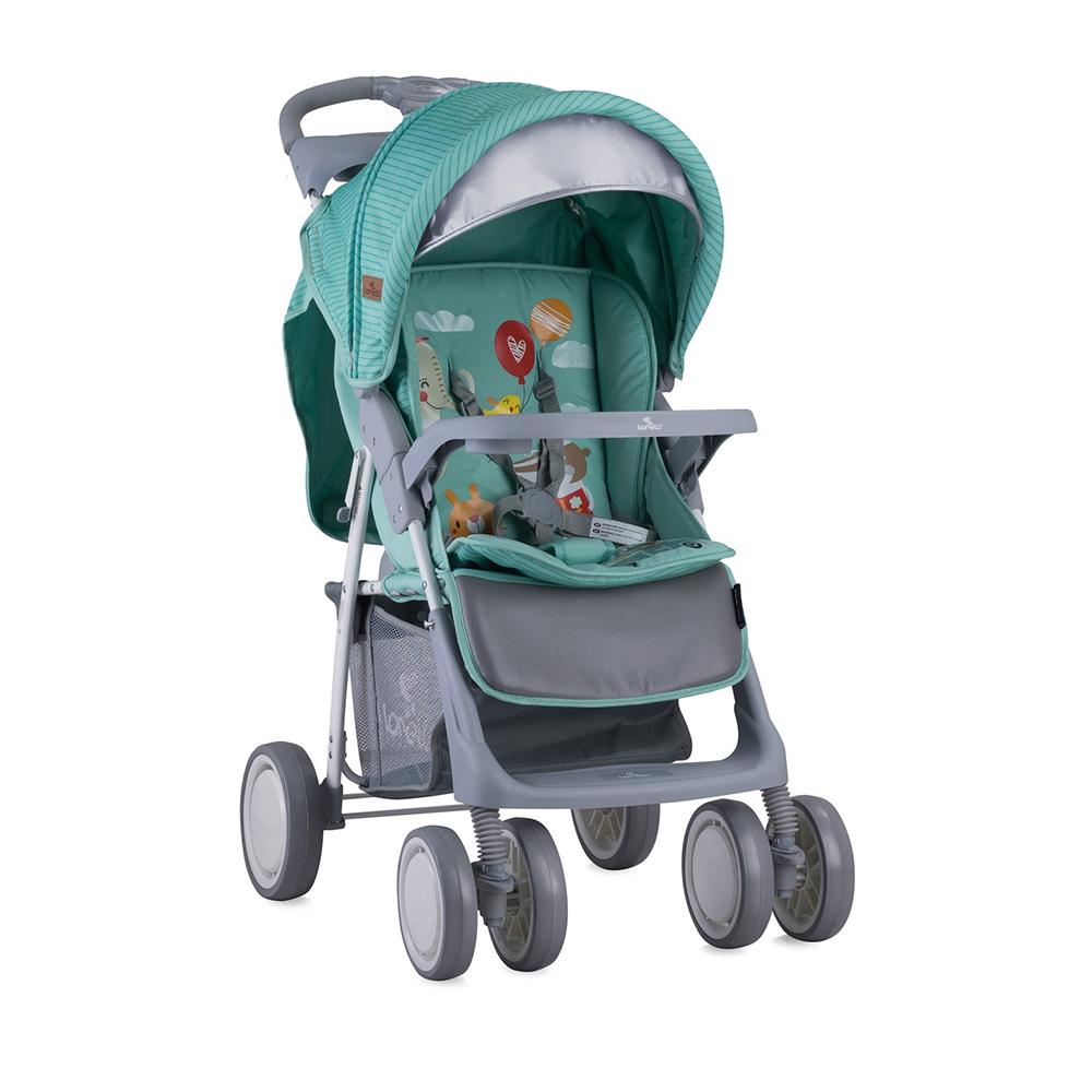 Lightweight Stroller Lorelli Foxy 10020521808A Strollers Baby Walking stick