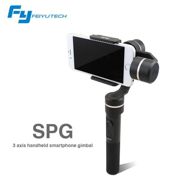 Shipping-feiyutech SPG 3 ejes de mano smartphone y acción cam estabilizador