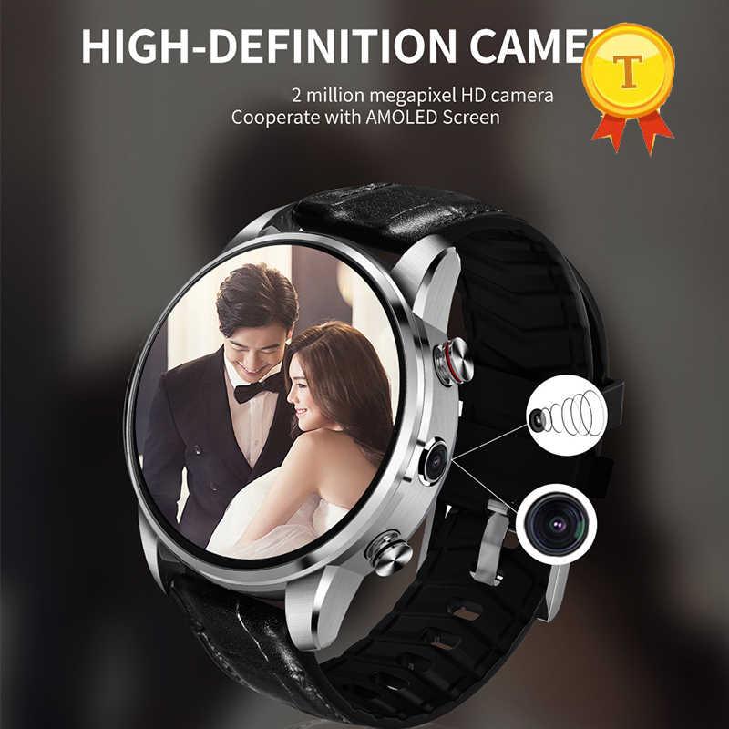 2019 4 4g Lte スマートフォン腕時計 Bluetooth のスマートウォッチ心拍数 2.0 で 1 ギガバイト 16 ギガバイト腕時計カメラステンレス鋼腕時計ケース