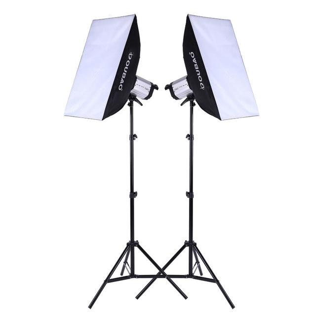 Adearstudio Opel 250w Soft Light Box Light Photography Studio Flash Set Studio  Studio Lamp Photographic Equipment