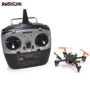 1 Juego de Mini Drone Quadcopter Radiolink F110 con transmisor T8FB 8CH RC
