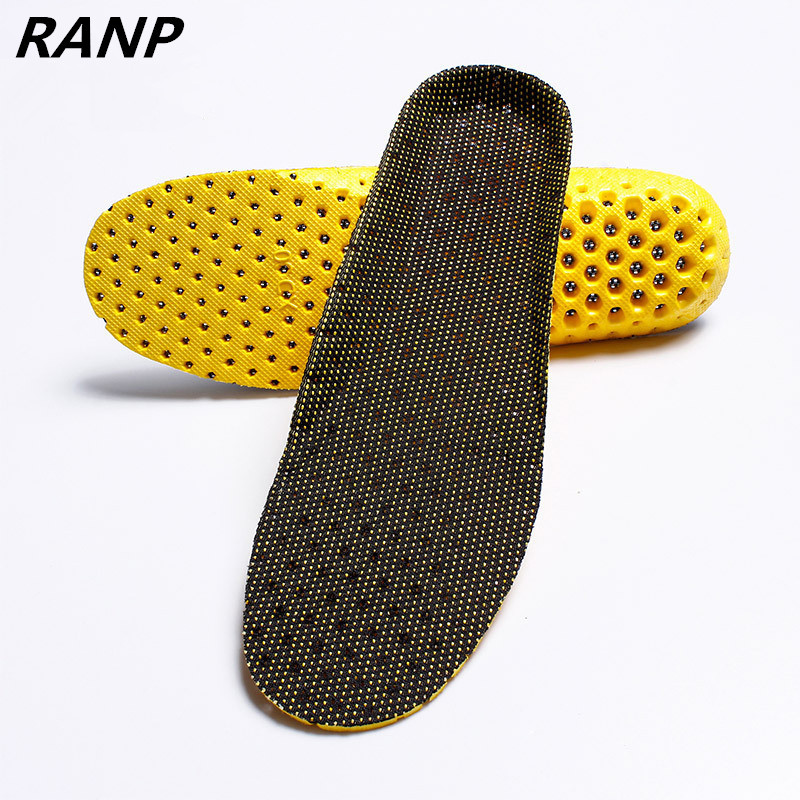 Unisex Memory Foam Stretch Breathable Deodorant Shoe Soft Relief Pain Running Cushion Sport Insoles Arch Orthopedic Pads Insert ...
