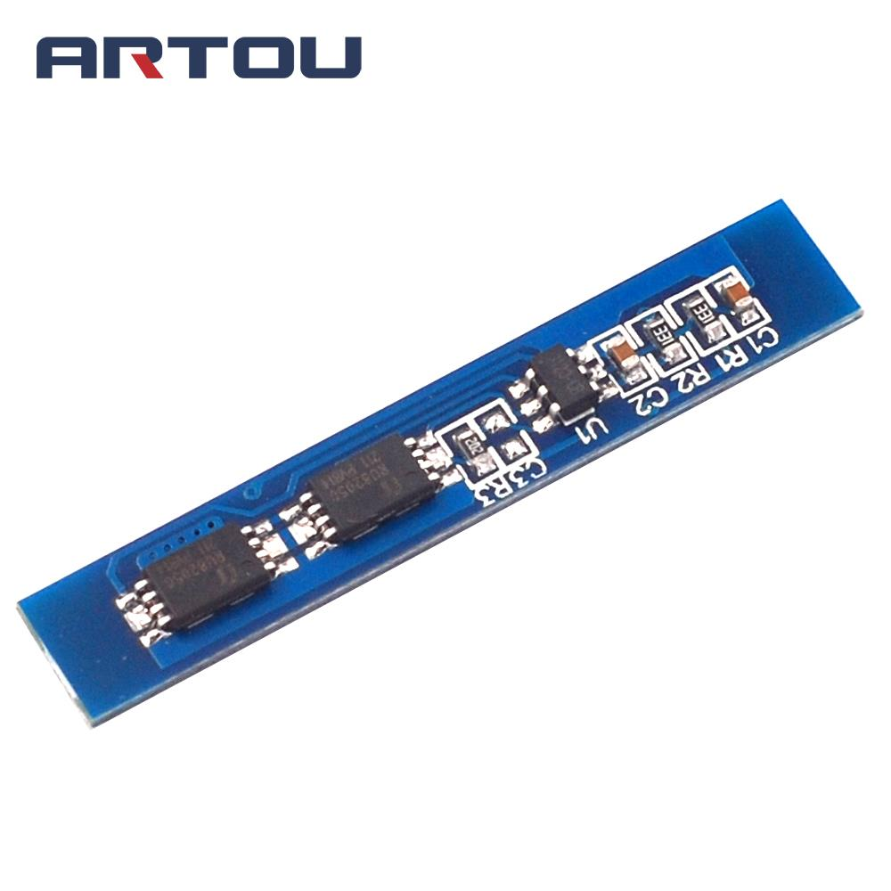 Smart Electronics 2S 3A Li-ion Lithium Battery 7.4 8.4V 18650 Charger Protection Board BMS PCM for Li-ion Lipo Battery Cell Pack image
