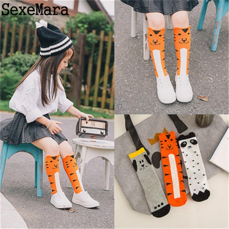 Autumn-Winter-Infant-Kids-Girl-Boy-Cartoon-Animal-Pattern-Knee-High-Baby-Socks-Cute-Kids-Fox-Socks-Totoro-Socks-baby-Long-Socks-2