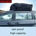 Водонепроницаемый для VW Passat B5 B6 Polo Golf 4 5 Chevrolet Cruze Lada Granta RAM большая емкость багажник на крышу автомобиля багажная сумка