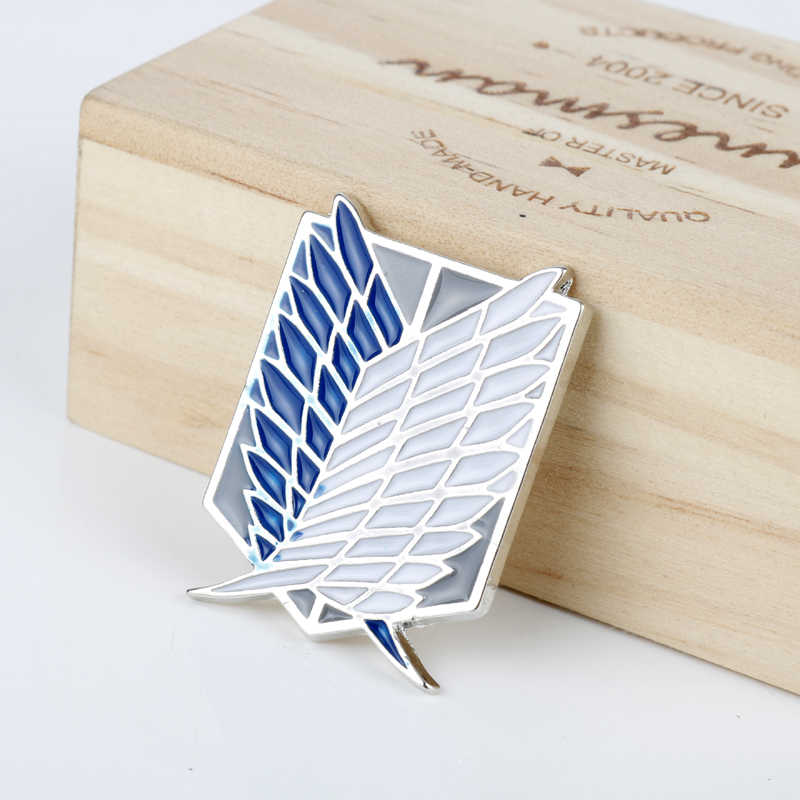 dongsheng Japan Anime Jewelry Attack On Titan Pins Brooch Legions Badge Unicorn Lapel Pin Brooches For Fans Collection-40
