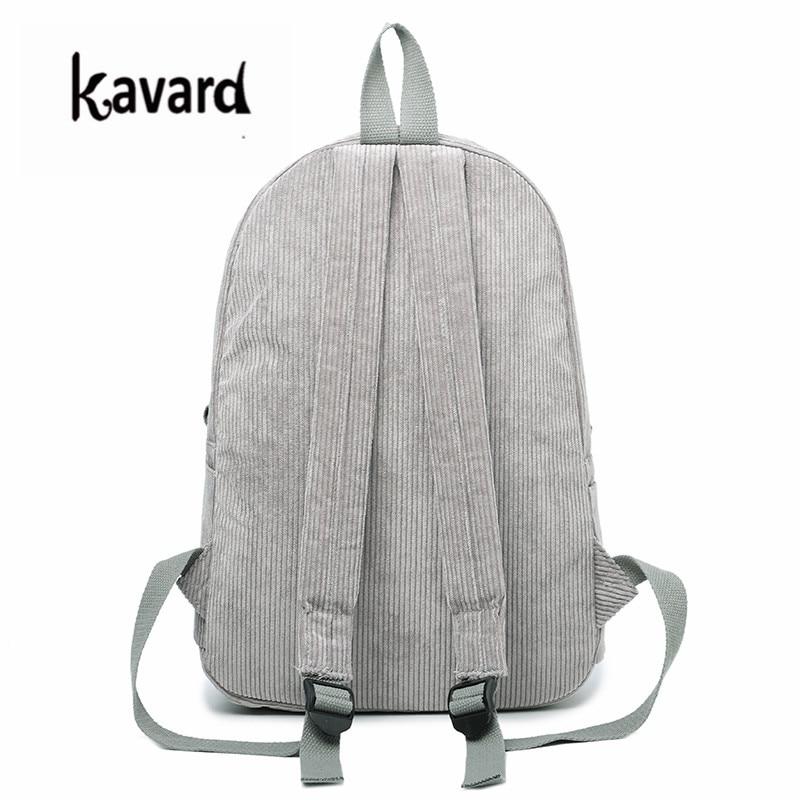Kavard Backpacks Women Nylon Bagpack Softback Solid Bag Fashion Soft Handle Mochilas Mujer Escolar Rucksack School Bag For Girls #4