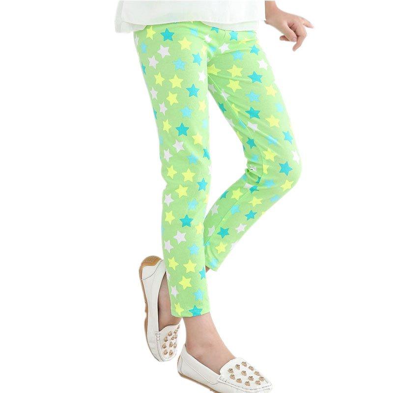 2-14Y-Baby-Kids-Girls-Leggings-Pants-Flower-Floral-Printed-Elastic-Long-Trousers-Hot-5