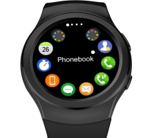 Mode Bluetooth SmartWatch Uhr Sync Notifier Mit Sim Bluetooth Smart Uhr für Apple iPhone IOS Samsung Android Phone