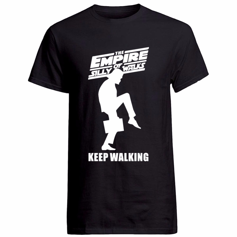 New Mens T Shirt EMPIRE OF SILLY WALKS KEEP WALKING Short Sleeve T ...