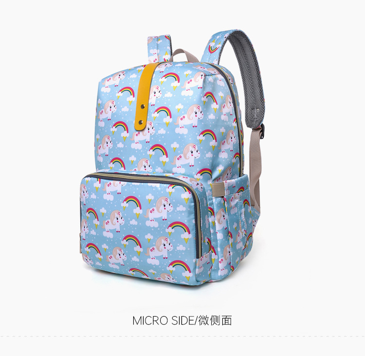 2019 NEW Diaper Bag Mummy Maternity Nappy Bag Women Backpack Nappy Large Capacity Baby Waterproof Travel Shoulder Stroller Bag (17)