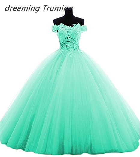 Us 9374 14 Offmulti Colored Quinceanera Dresses 2019 With Appliqued Lace Tulle Dresses 15 Years Ball Gowns Vestido De 15 Anos De Debutante In
