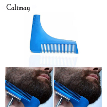 1 piece Men Facial Shave Shaping styling Shower Salon Beard Shaving comb care brush Tool men shaving brush luxury badger bristles shaving razor brush barber salon facial beard comb cleaning appliance tool metal base