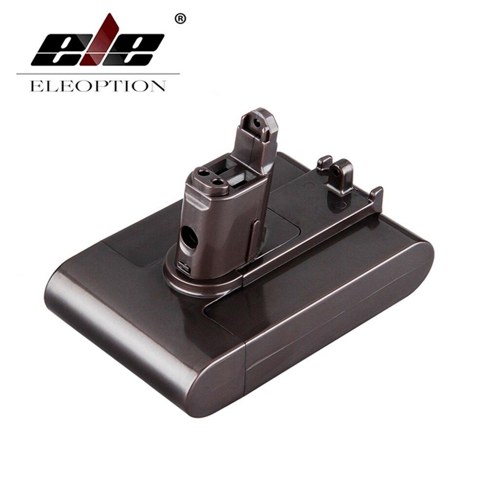 ELEOPTION 22.2 V 2.0Ah Li-Ion Nouveau Remplacement Aspirateur Batterie Rechargeable Batterie Pack pour Dyson DC35 Type B 6-Cell