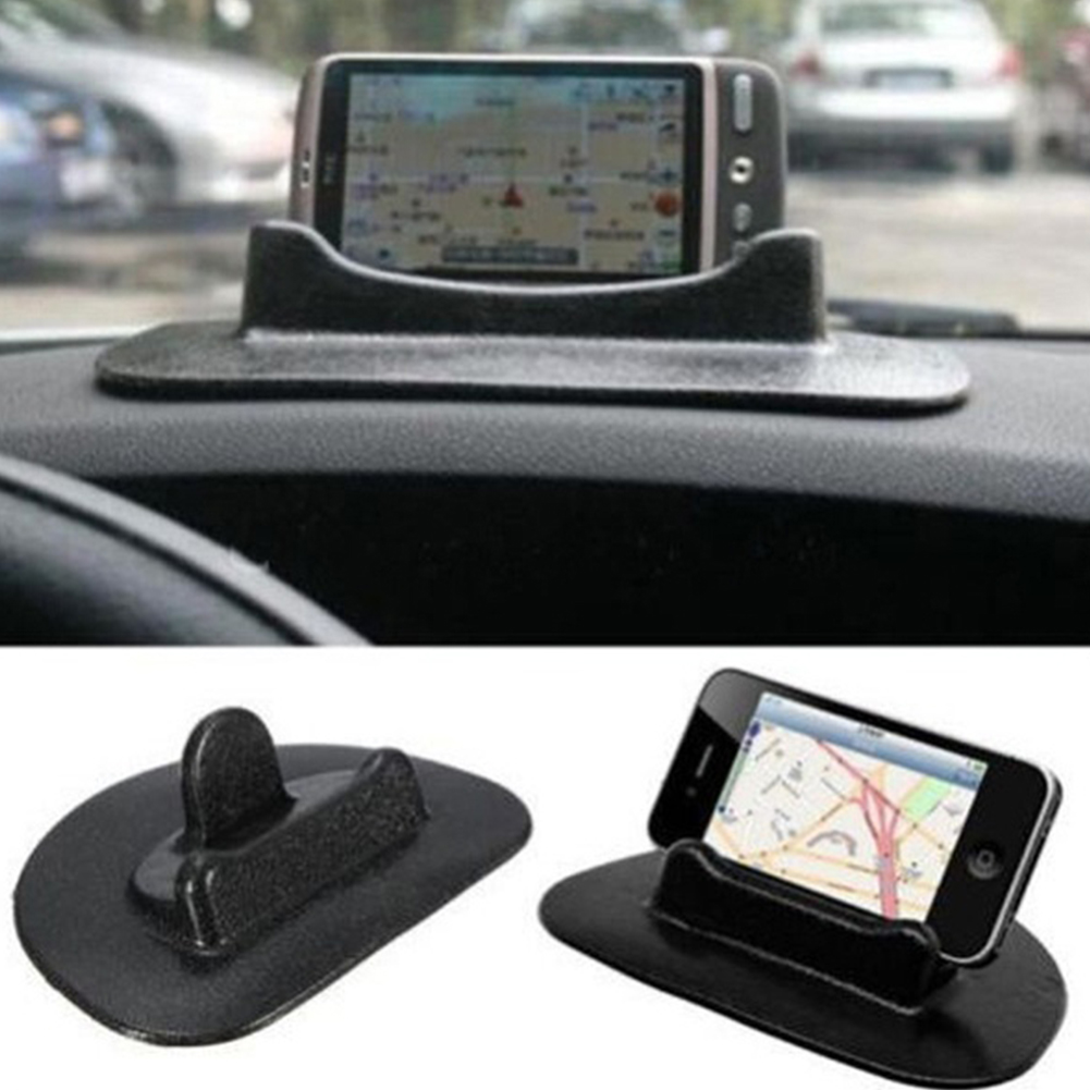 New Black Car Mobile Phone Holder Dashboard Sticky Pad Mat