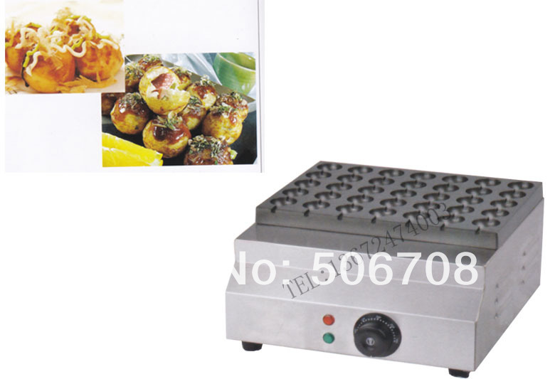 Free shipping~ Commercial Non-stick 220v Electric 5cm Japanese Takoyaki Octopus Ball Grill Machine Maker Baker japanese takoyaki grill stove machine octopus cluster cooking device octopus ball nonstick cooker japan style