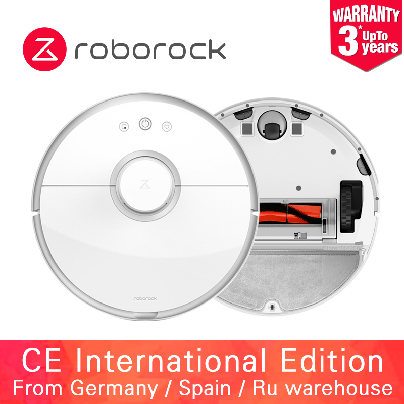 Roborock S50 S51 Xiaomi MI Robot Vacuum Cleaner 2 for Home Automatic Sweeping Dust Sterilize APP Smart Planned Washing Mopping(China)