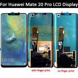 "Image 2 - 6,39 ""para Huawei Mate 20 Pro pantalla LCD Digitalizador de pantalla táctil de reemplazo de partes para Huawei Mate20 Pro amigo 20 Pro LCD pantalla"