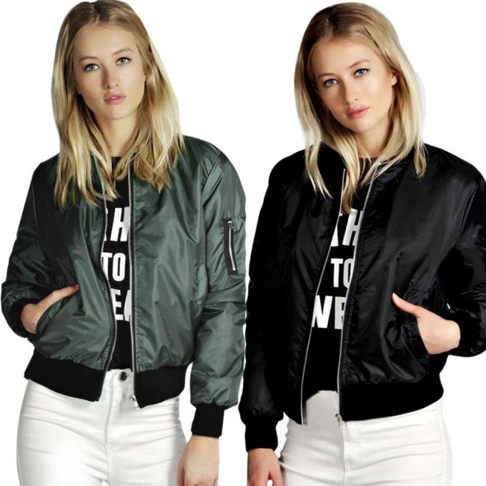 2019 New Fashion Women   Jacket   Slim Biker Motorcycle Soft   Basic     Jacket   Zipper Coat Autumn And Winter Short Thin Coat Outerwear