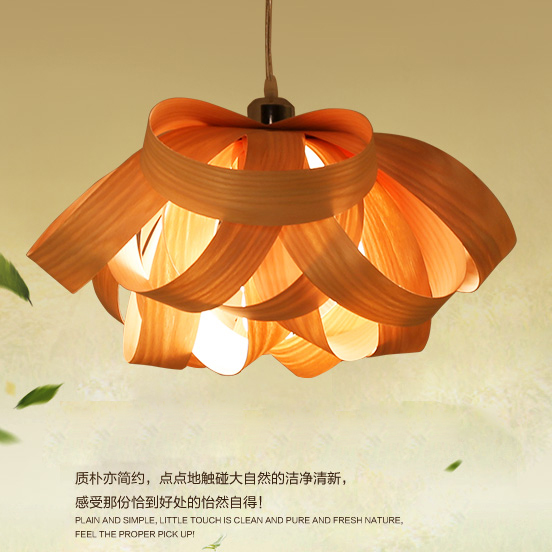 Wooden hanging lamps southeastern chinese pendant lights fixture wooden hanging lamps southeastern chinese pendant lights fixture home indoor lighting bedroom cafes pub wood veneer droplight in pendant lights from lights aloadofball Image collections